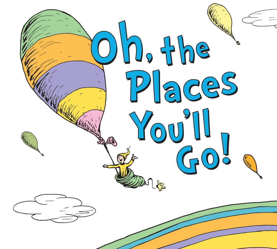 Oh, The Places You'll Go Is The Topselling Book For