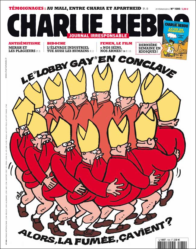 Meilleures Unes De Charlie Hebdo : meilleures, charlie, hebdo, Charlie, Hebdo, Travers, Slate.fr