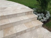 Travertine Outdoor Pavers, Floor & Wall Tiles, Pool Coping