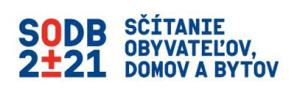 Sčítavanie obyvateľov domov a bytov 2021 logo