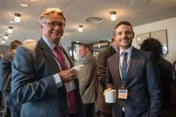 Neil Simpkin (RWS), Benjamin Rainforth (CTi) at SlatorCon London 2017