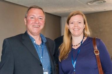 John Harris (Welocalize), Sarah Turpin (3di Information Solutions)