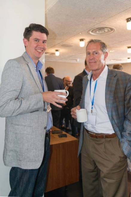 Ben Taylor (Language Connect), Greg Brink (Brink Global Solutions) at SlatorCon London 2017