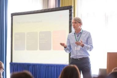 memoQ CEO Norbert Orozsi at SlatorCon San Francisco 2018