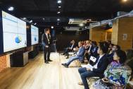 EVS Translations CEO Edward Vick takes to the stage at SlatorMeet HK2018