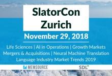 SlatorCon Zurich 2018