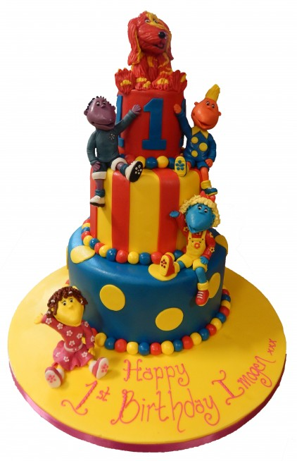 Tweenies Tiered Cake