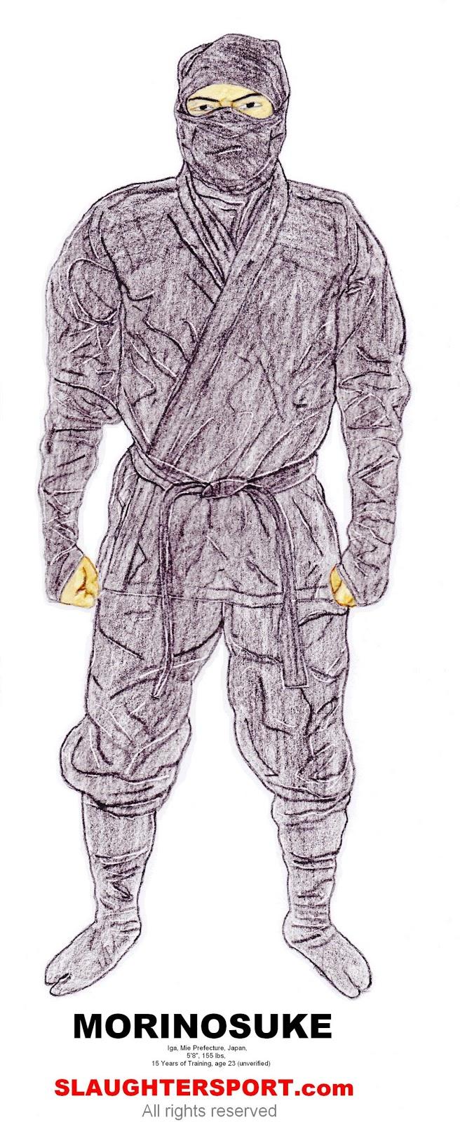 Morinosuke ninja  SLAUGHTERSPORT.COM