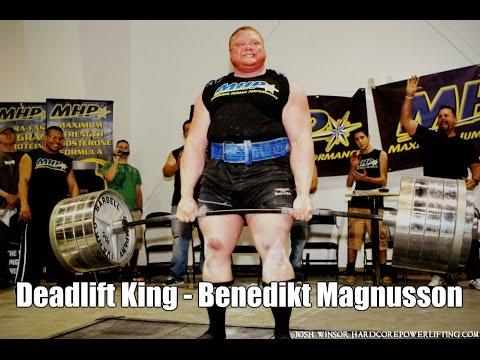 Benedikt Magnusson -1015 Deadlift StrengthFighter.com