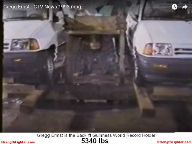 Gregg Ernst Back lift World Record StrengthFighter.com
