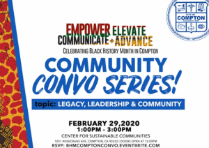 Convo With Mayor Aja Brown @ Nhs Center For Sustainable Communities | Compton | California | United States