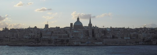 Valletta, from the north.
