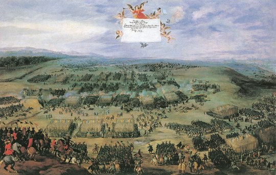 The Battle of White Mountain (1620) between Protestant and Catholic armies in the early days of the Thirty Years War.