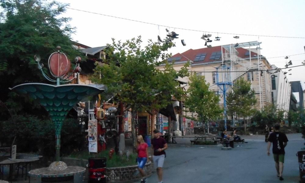 Город, которого нет. Любляна, Метелкова.