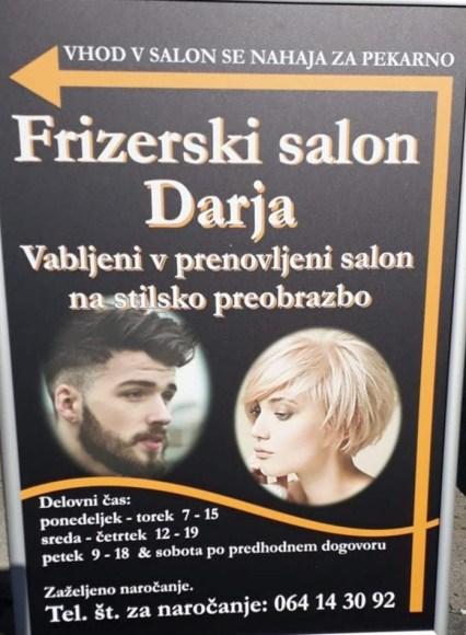 Парикмахерская Дарья (frizerski salon darja)