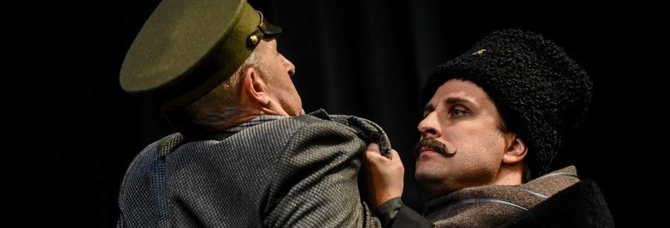Премьера спектакля «Бег» на сцене театра им. В.И. Качалова