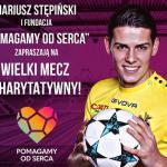 Pomagamy Od Serca – Mecz Charytatywny  na Stadionie Widzewa.