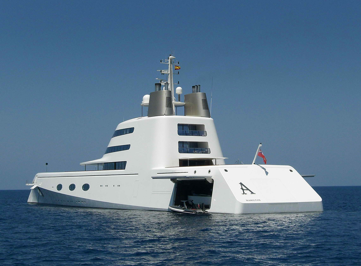 The Worlds Most Expensive Luxury Yachts Slaylebrity
