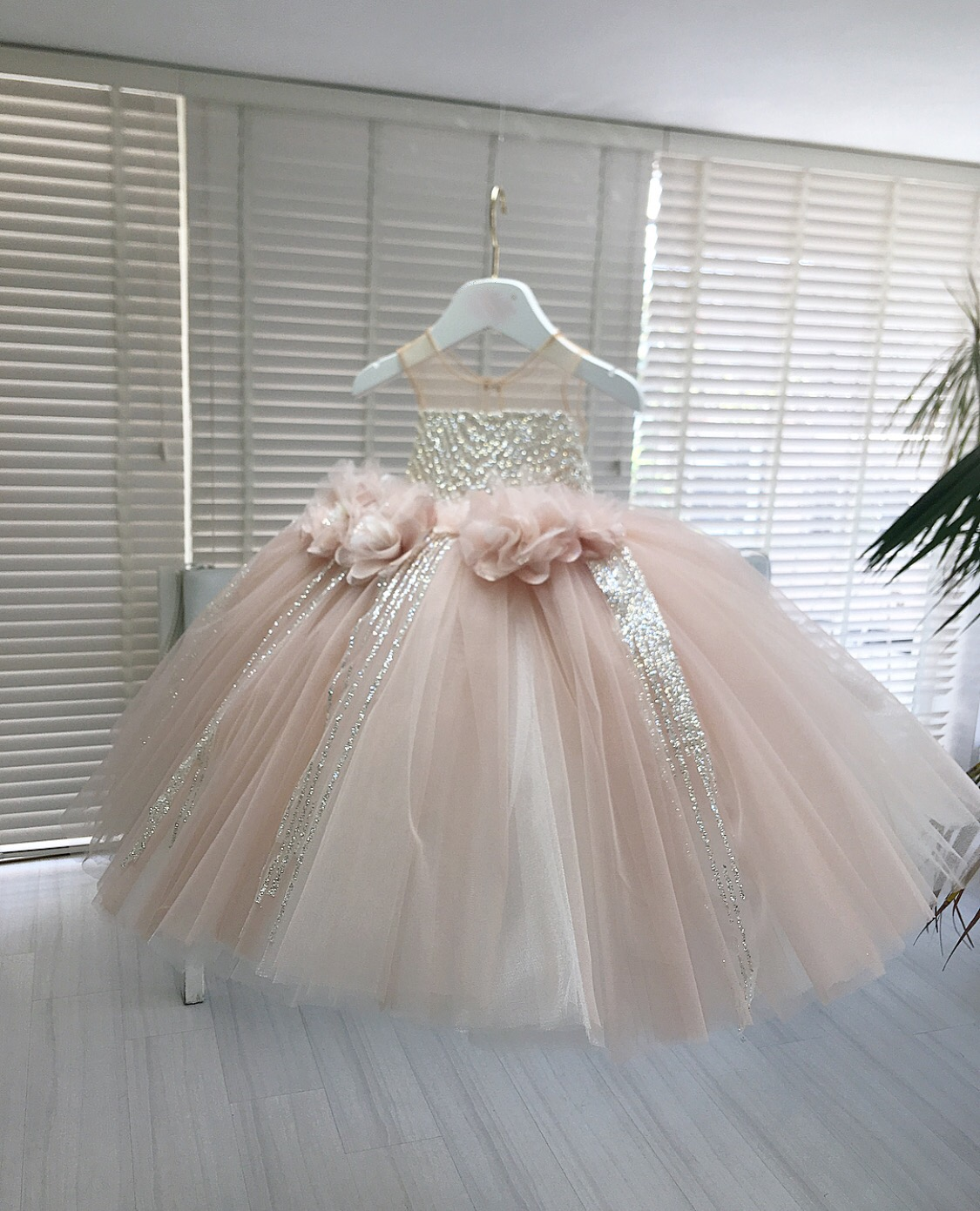 Kids Couture : couture, Powder, Blush, Embellished, Couture, Slaylebrity