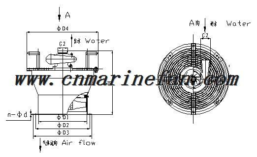 MARINE WATER POWER GAS FREE FAN