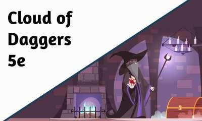Cloud of Daggers 5e
