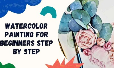 Watercolor Painting for beginners step by step