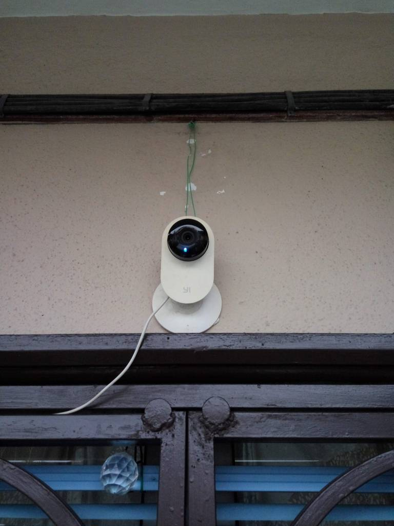 Security cam's strategically located