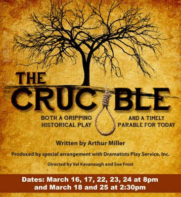 The Crucible - Tickets Now Available