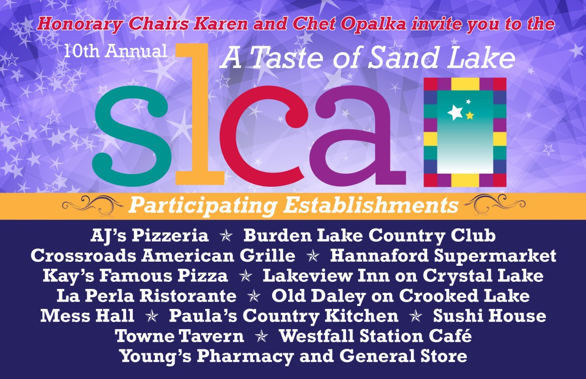 Taste of Sand Lake Tickets Available!
