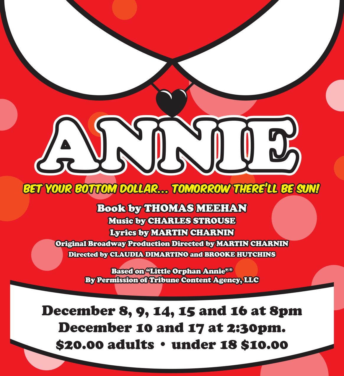 Annie Tickets Now Available!