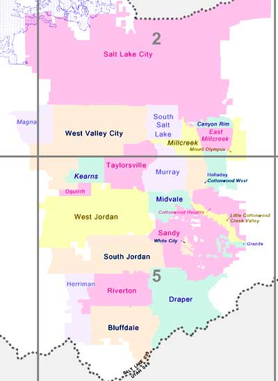 Salt Lake City Zip Code Map : Neighborhoods, Catalog, Online