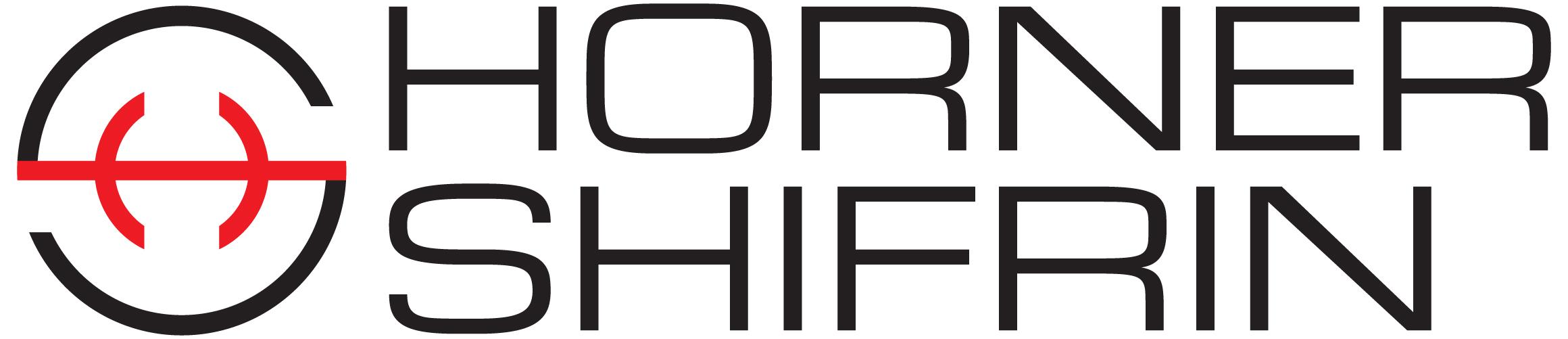 Horner Shrifin Logo Stacked Black