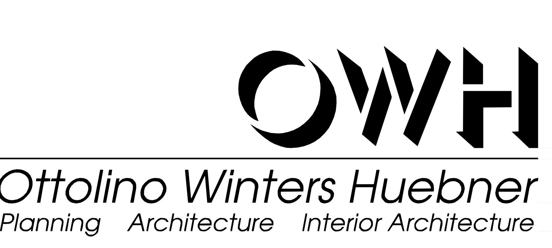 Ottolino Winters Huebner Logo. Planning. Architecture. Interior Architecture.