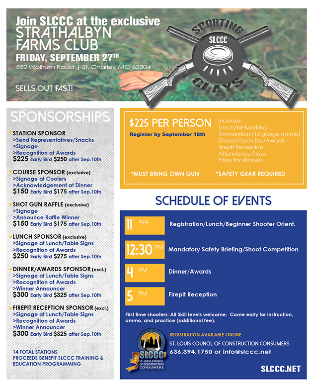 SLCCC 2019 Sporting Clays Info