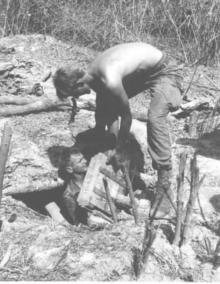 Allied Military Operations, in South Vietnam, Uncovering Enormous Cache of Weapons and Ammunition