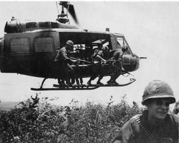 Combat Insertion Into a Hot LZ