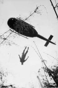 Extraction Of A KIA U.S. Paratrooper