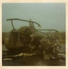 Helicopter After A Crash