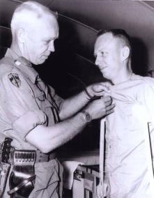 Helping An Injured Soldier Dress