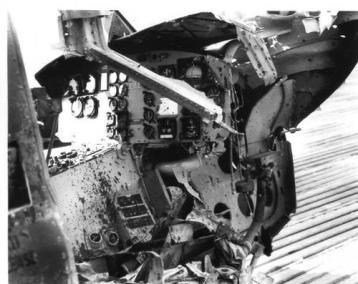 Kingsman Huey Destroyed by Detonated Mine