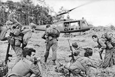 The Squadron Worked In Conjunction With Aircraft Of The Royal Australian Navy Helicopter Flight Vietnam and United States Forces