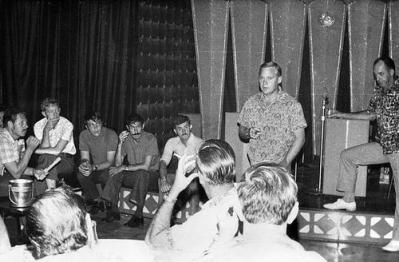 Wing Commander John Mitchell Briefs Detachment S's Hercules Crews