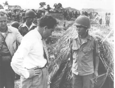 President Richard Nixon in Vietnam