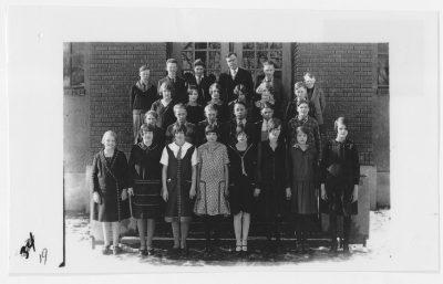 Newton Grade School, 1924-1925