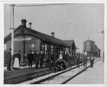 Cache Junction Depot and Lunch Room, 1915