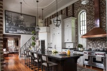 Kitchen Designs with Brick Walls
