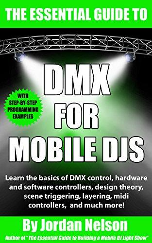 dmx lighting book cover for mobile djs