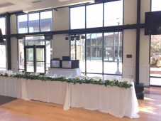 picture of slc wedding venue with dj