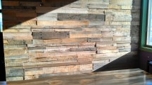 Pallet Wood Wall Video - Sustainable Lumber Company