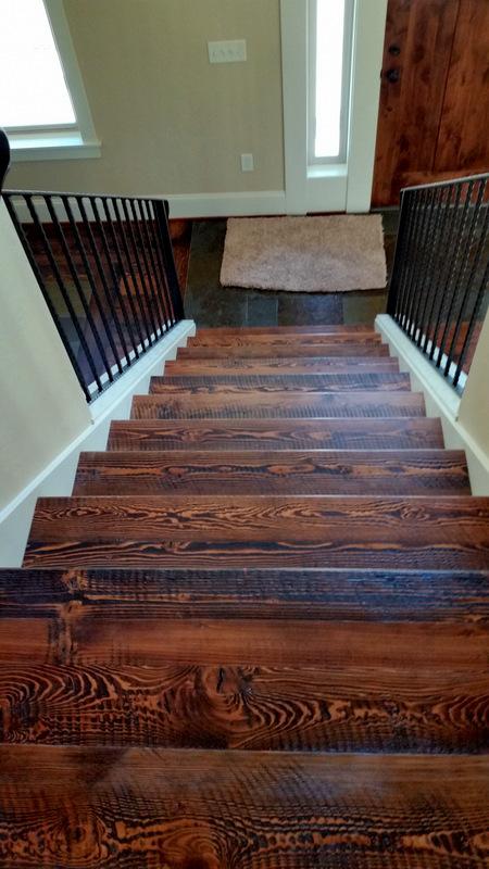 Rough Sawn Douglas Fir Flooring  Sustainable Lumber Company